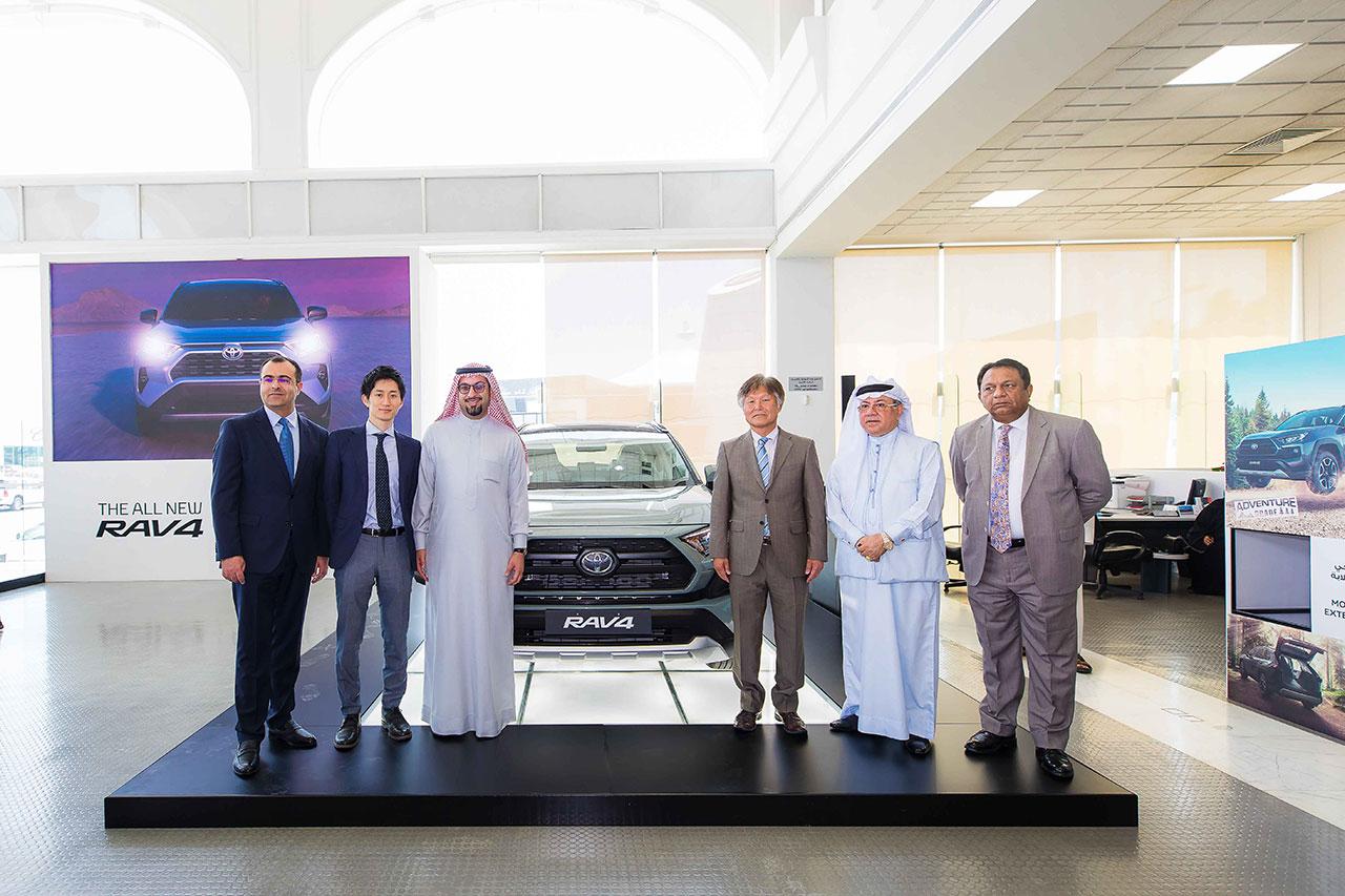 Ebrahim K. Kanoo Unveils The All-New Toyota RAV4