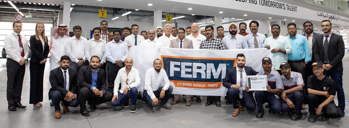كانو لمعدات المركبات والمعدات الصناعية KAIE تضيف FERM  لحافظة أعمالها