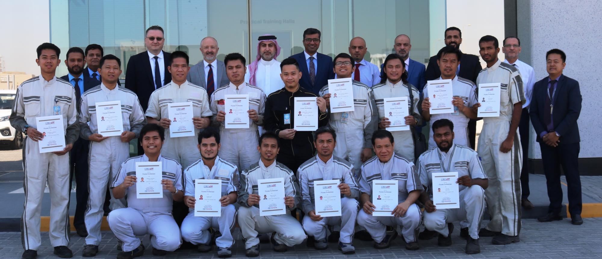 Ebrahim K. Kanoo Adopts Advanced Training Techniques for Technicians
