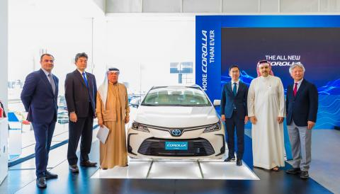 Ebrahim K. Kanoo launches all-new 2020 Toyota Corolla