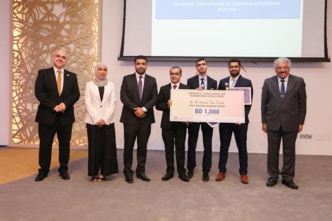 Winners Announced for Prestigious Ebrahim K. Kanoo Award for Engineering Excellence