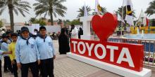 Toyota participates in 33rd GCC Traffic Week activities