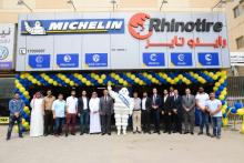 Ebrahim K. Kanoo & Michelin Tyres Inaugurate 2 New Branches